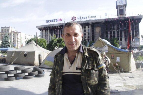 """Kijevas, Ukraina, """"tylos diena"""""""