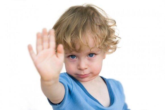 Kai vaikui sakote NE ir NEGALIMA, turite kai ką atminti