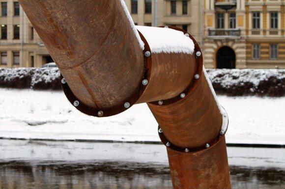 Vilniaus kultūrinis objektas - vamzdis Neries krantinėje