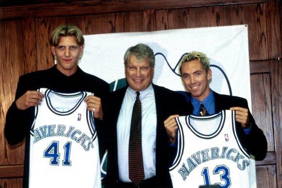 Dirkas Nowitzkis, Donas Nelsonas ir Steve'as Nashas