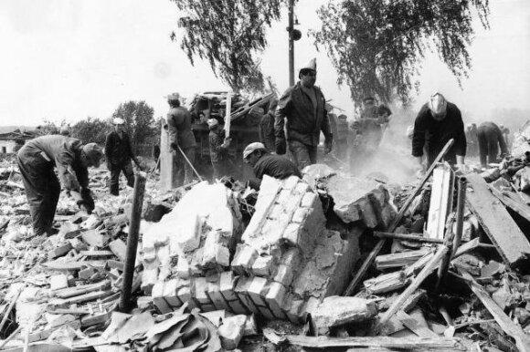 Arzamaso traukinio sprogimo padariniai – bashny.net nuotr.