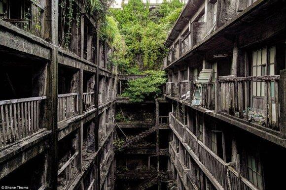 Nuo apleistų striptizo klubų iki meilės viešbučių trupančiomis sienomis: įspūdingose nuotraukose – kitokia Japonijos pusė