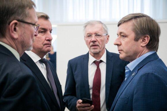 Juozas Bernatonis, Rimantas Sinkevičius, Gediminas Kirkilas, Ramūnas Karbauskis