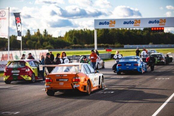 Savaitgalį Estijoje lenktynininkai kovojo dėl čempiono titulo