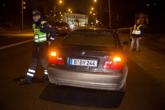 Night raid in Vilnius, March 11, 2010