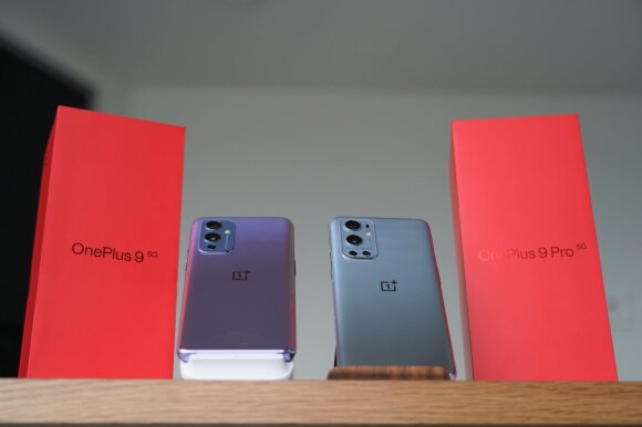 OnePlus 9 ir OnePlus 9 Pro
