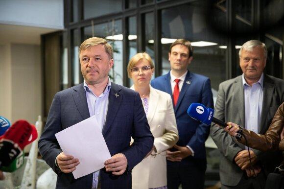 Valstiečiai įsivertino: pristatė galutinį Seimo rinkimų sąrašą