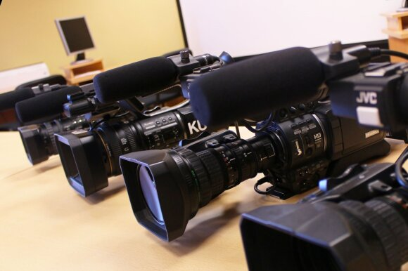 Praktiniai užsiėmimai vyks modernioje universiteto Medijų laboratorijoje. Klaipėdos universiteto nuotr.