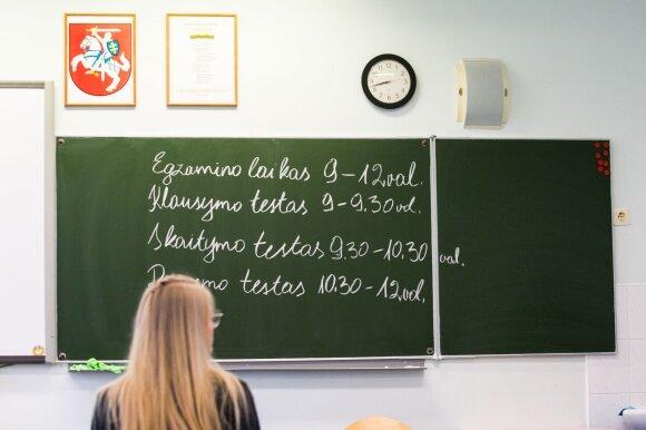 Abiturientai atsipalaidavo: prieš svarbų egzaminą nebelankė pamokų, bet tikisi aukščiausių įvertinimų
