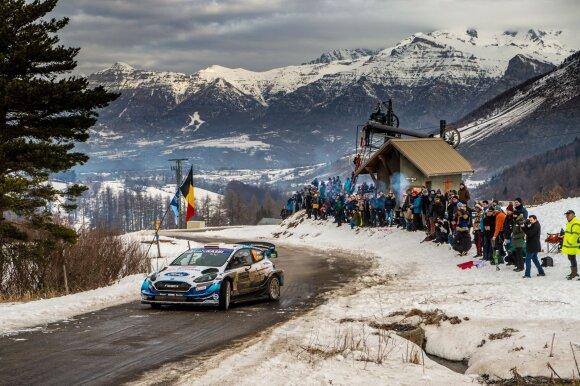 Deividas Jocius Monte Karlo WRC finišą pasiekė per visišką stebuklą. Honza Fronek nuotr.