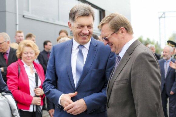 Algirdas Butkevičius ir Stasys Dailydka