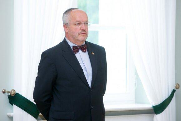Minister Juozas Olekas