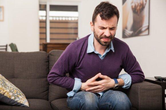 Vyrui skauda pilvą