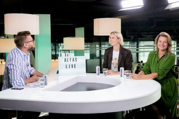 Alfas Ivanauskas, Laura Vagonė, Monika Čereškaitė