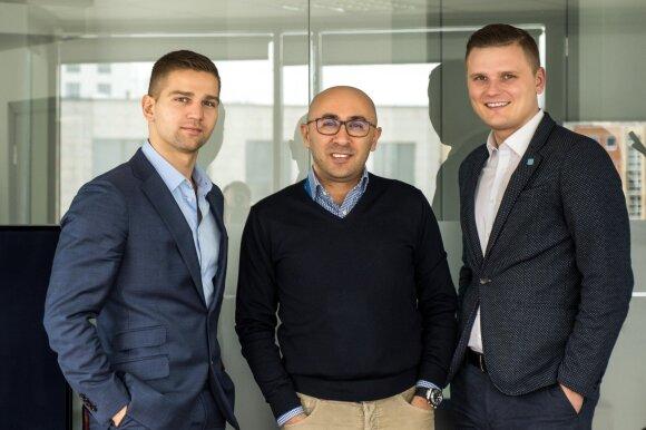 Andrej Naumčik, Ant Gokcek, Andrius Jonaitis