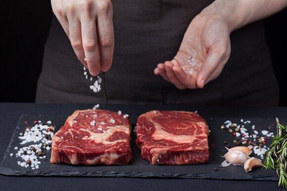Kulinarinis stebuklas – šventinis jautienos didkepsnis