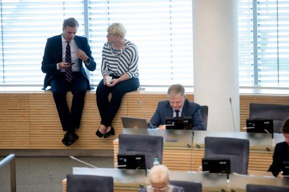 Ingrida Šimonytė: galėčiau imtis vyriausybės vadovės atsakomybės