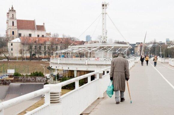Paskaičiavo, kokios pensijos ateityje gali tikėtis dirbantieji