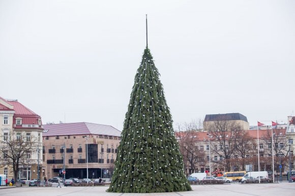 Kalėdinė eglė Vilniuje