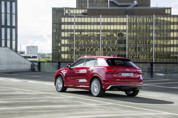 """""""Audi Q2"""" vilios turtingesnį jaunimą"""