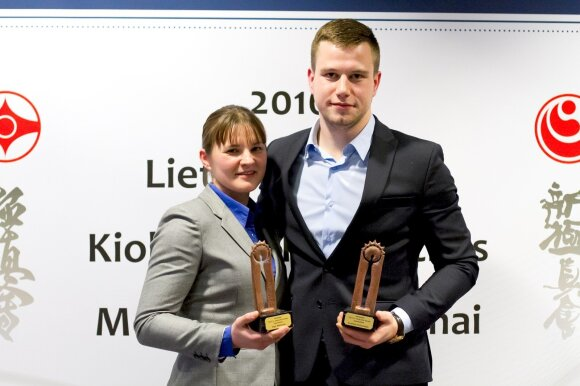 Inga Mikštaitė ir Eventas Gužauskas (pufasfoto.lt nuotr.)