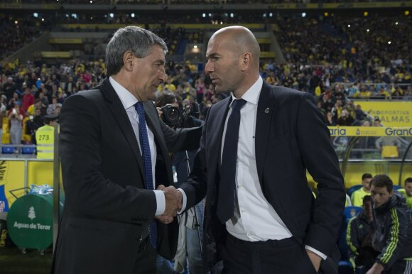 Quique Setienas, Zinedine'as Zidane'as