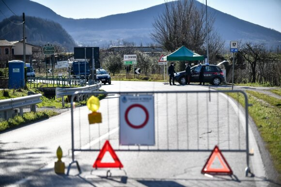 Koronaviruso židiniu buvęs Italijos kaimas stebina mokslininkus: fiksuojamas retas reiškinys