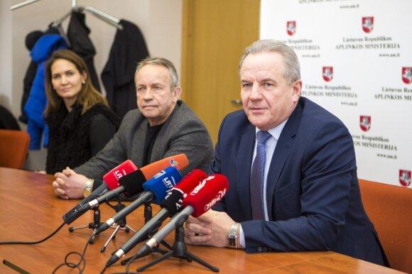 S. Liaudanskytė, A. Genevičius ir K. Trečiokas