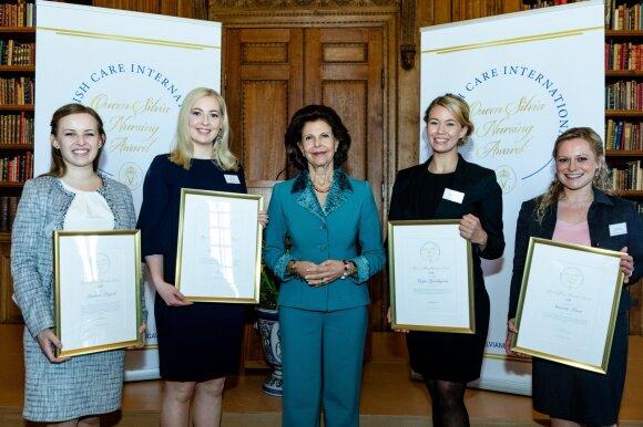 Švedijos karalienės Silvijos globojamas konkursas. Yanan Li nuotr.