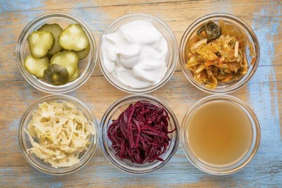 Probiotikais turtingas maistas