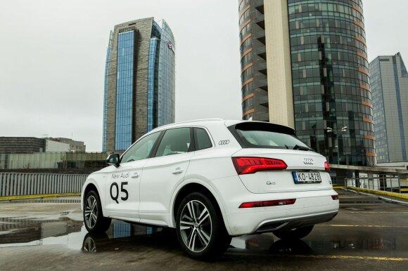"""Antrosios kartos """"Audi Q5"""" pirmtaką pranoksta dydžiu, bet ne svoriu"""