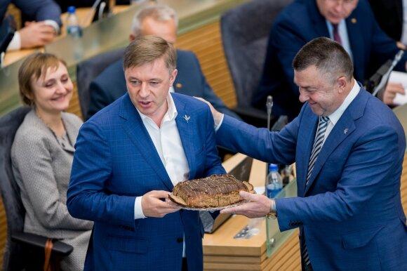 Ramūnas Karbauskis, Antanas Matulas