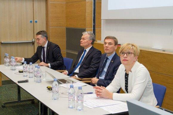 Kandidatų į Lietuvos Respublikos prezidentus debatai Londone