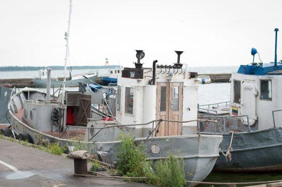 Žvejų laivai