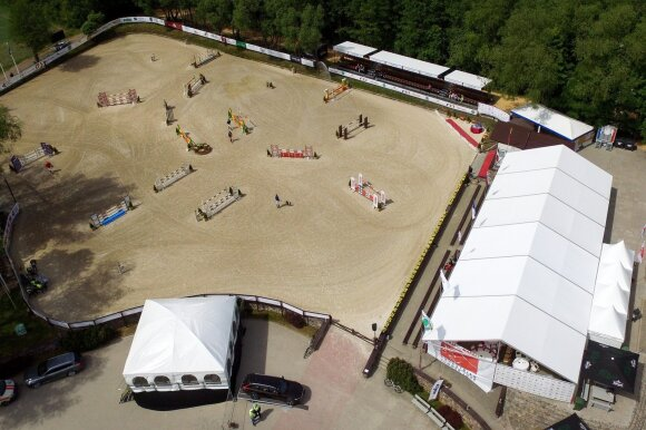 Hest 2018 varžybų aikštė / Foto: HORSEMARKET