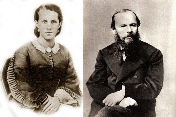 Fiodoras Dostojevskis ir Anna Snitkina