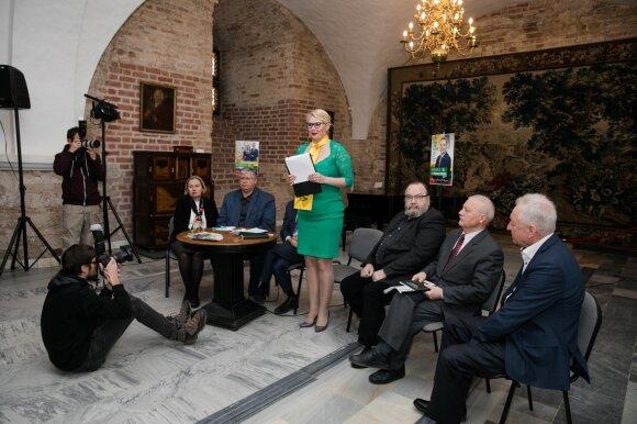 """Puidokas pristatė savo programą: žada """"tiesti tiltus"""" į Baltarusiją ir Rusiją"""