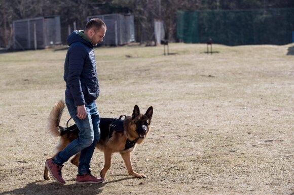 Ką daryti, kai šuo puola?