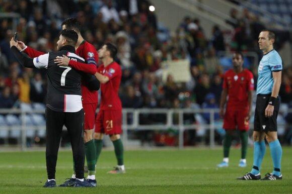 Cristiano Ronaldo ir sirgalius