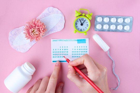 Menstruacijos