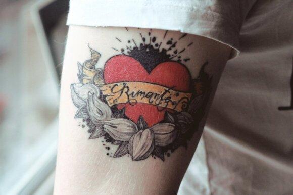 Povilo Miškinio-Eidukonio tatuiruotė