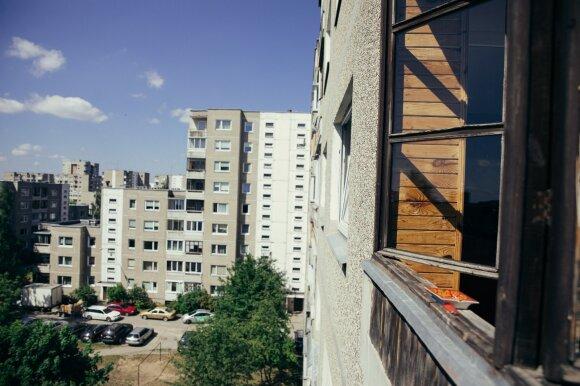 """Serialo """"Černobylis"""" įkvėptas butas/ Lino Marcišausko nuotr."""