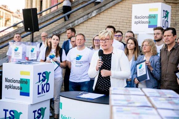 Ekspertai įvertino naujai pasirodžiusius reitingus: Gabrieliui Landsbergiui reikia susitaikyti ir padaryti išvadas