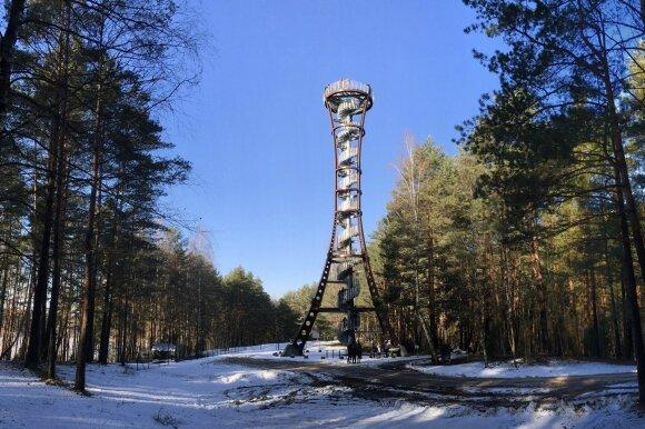 Mindūnų apžvalgos bokštas