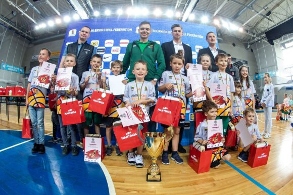 NKA darželinukų čempionatas / Foto: NKA