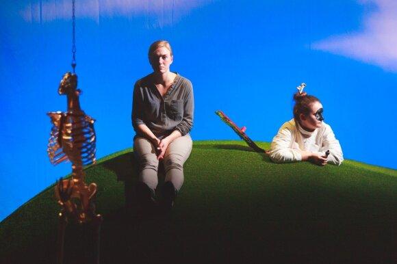 Spektaklis R.E.M. (Lauryno Butkevičiaus nuotrauka)