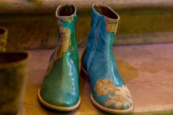 Gėlėti batai – lietuviams per drąsu?