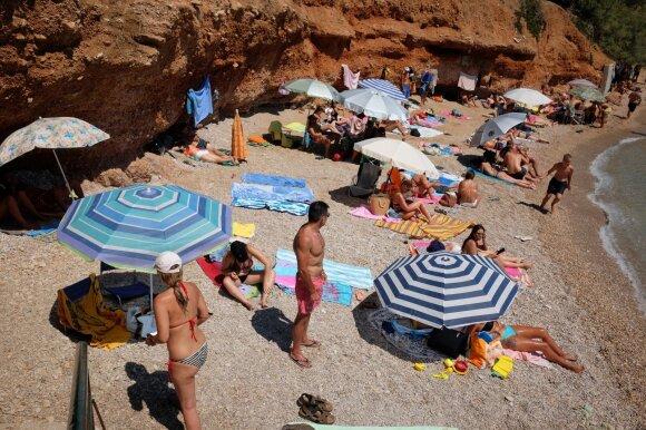 Po kelionės į Graikiją suprato, kodėl Lietuvai reikia mokamų paplūdimių