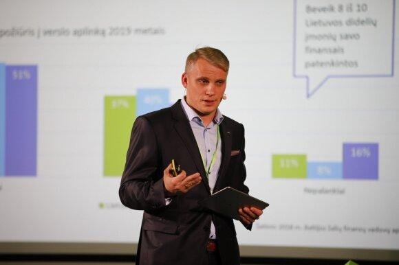 SEB banko valdybos narys, Verslo bankininkystės tarnybos direktorius Vilius Juzikis