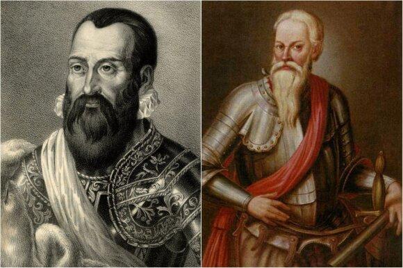 Mikalojus Radvila Juodasis ir Mikalojus Radvila Rudasis
